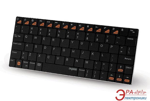 Клавиатура Rapoo BT Ultra-slim Keyboard for iPad E6300 Black