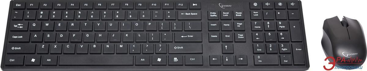 Комплект (клавиатура,мышь) Gembird KBS-V1-UA USB