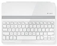 Клавиатура Logitech Ultrathin Keyboard Cover for iPad  White (920-004931)
