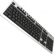 Клавиатура Gembird KB-8300UM-SB-UA Multimedia Silver-Black (KB-8300UM-SB-UA)