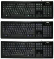 Клавиатура Gembird KB-6050LU-BL-RUA USB Black с подсветкой (KB-6050LU-BL-RUA)