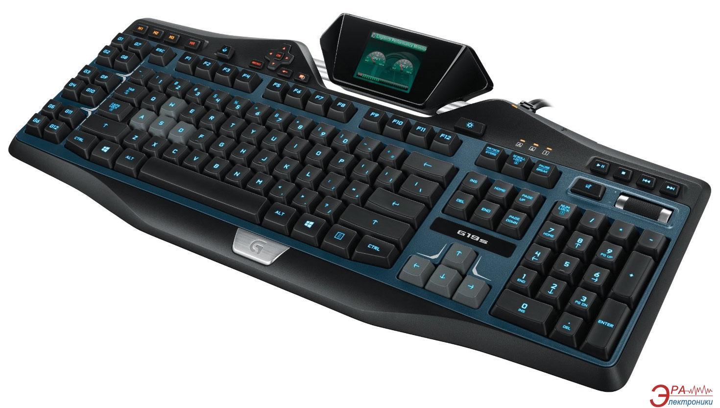 Клавиатура игровая Logitech G19s Gaming USB (920-004991)