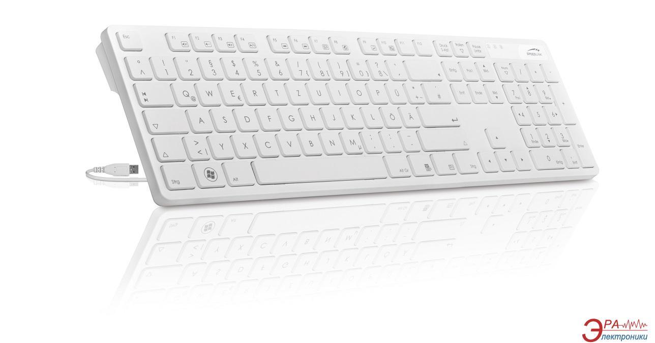 Клавиатура SPEEDLINK VERDANA White (SL-6455-SWT-RU)