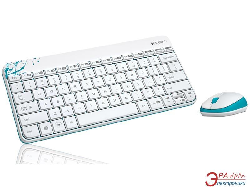 Комплект (клавиатура, мышь) Logitech Wireless Combo MK240 (920-005791)