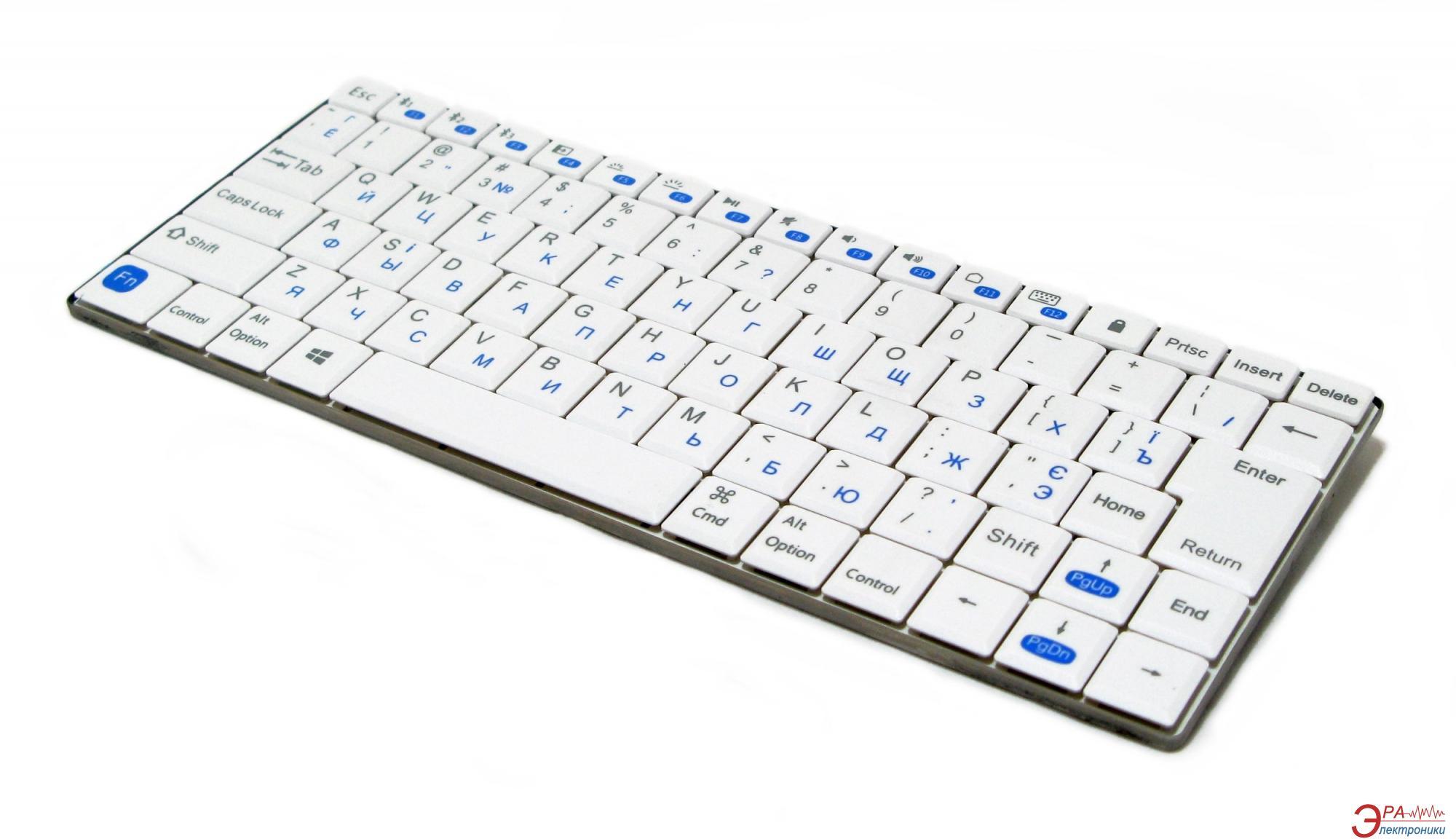 Клавиатура Gembird KB-P6-BT-W-UA Bluetooth