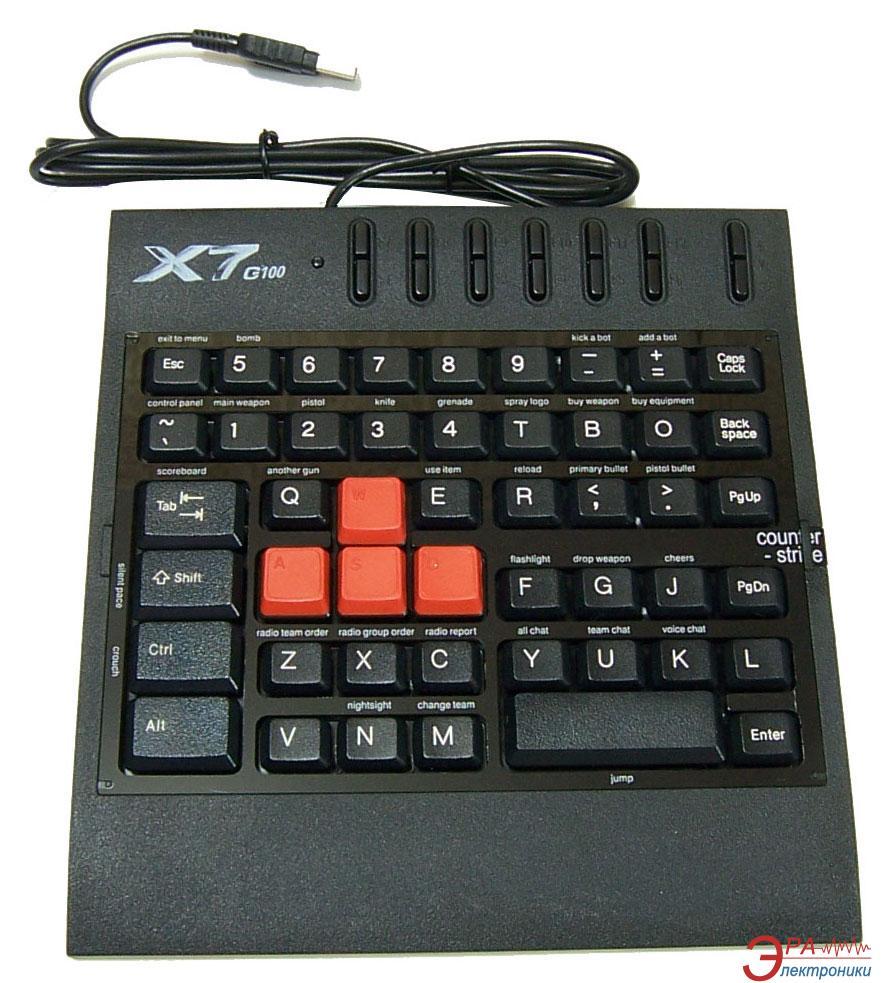 Клавиатура игровая A4Tech X7-G100