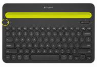 Клавиатура Logitech Bluetooth Multi-Device Keyboard K480 (920-006368)