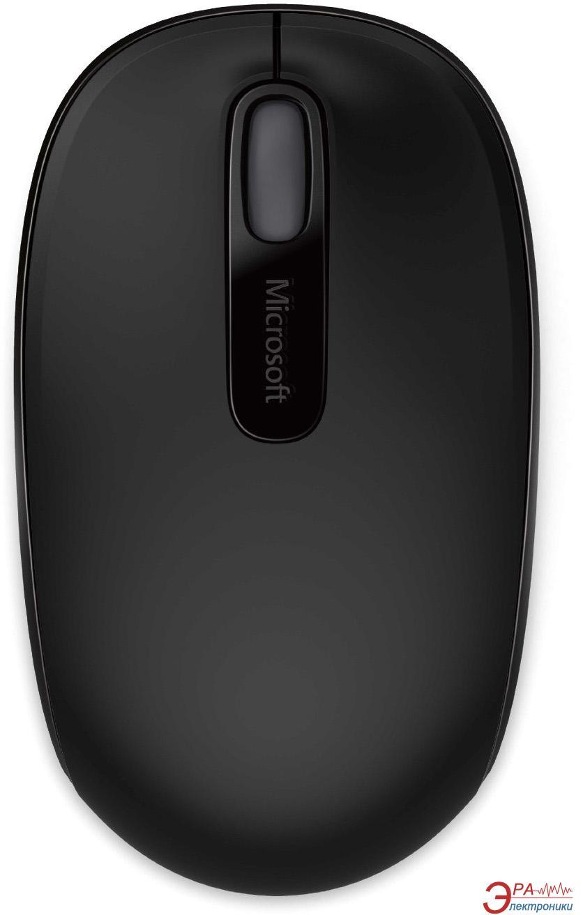 Мышь Microsoft Mobile Mouse 1850 WL (U7Z-00004) Black