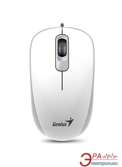Мышь Genius DX-110 USB (31010116102) White