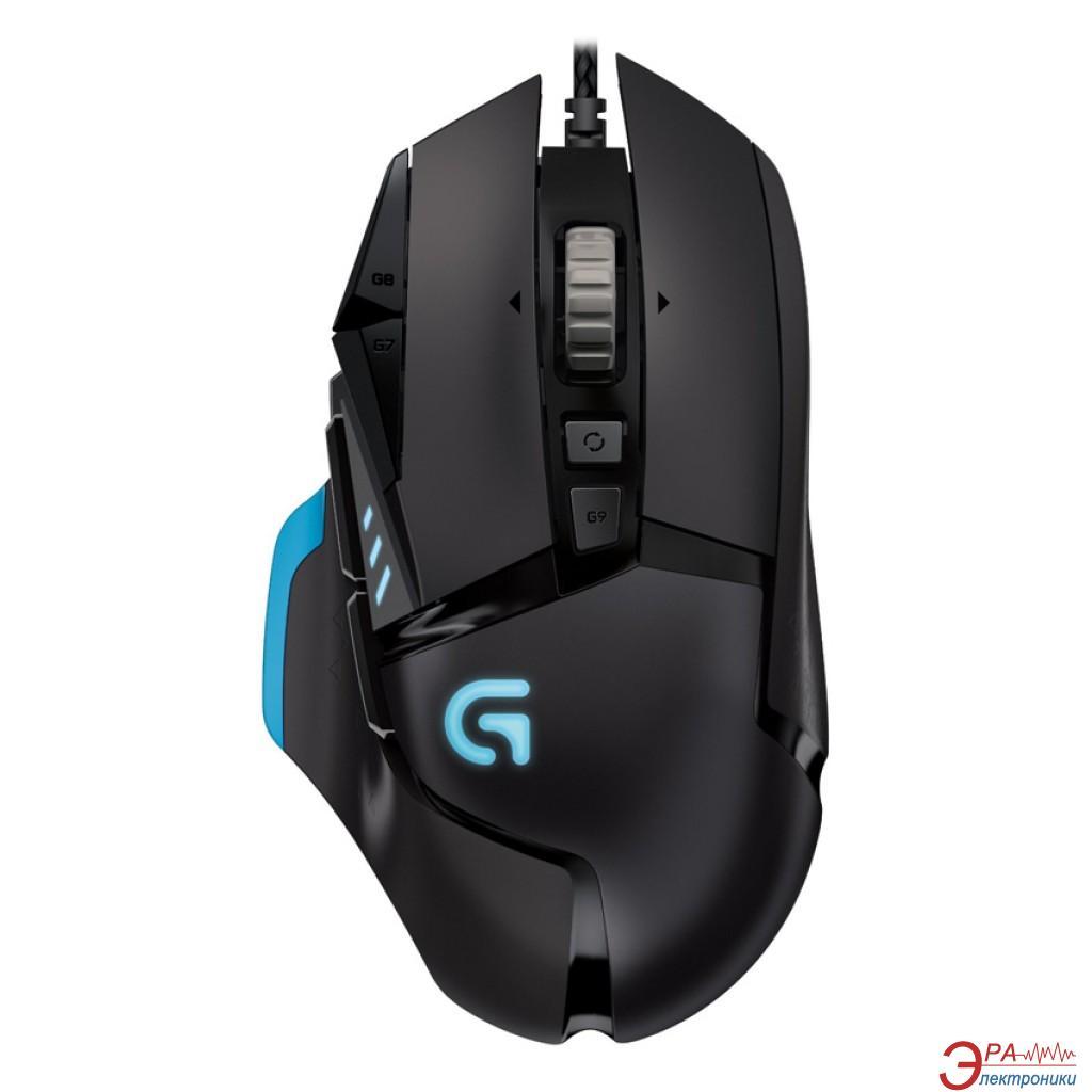 Игровая мышь Logitech G502 Proteus Spectrum (910-004617) Black