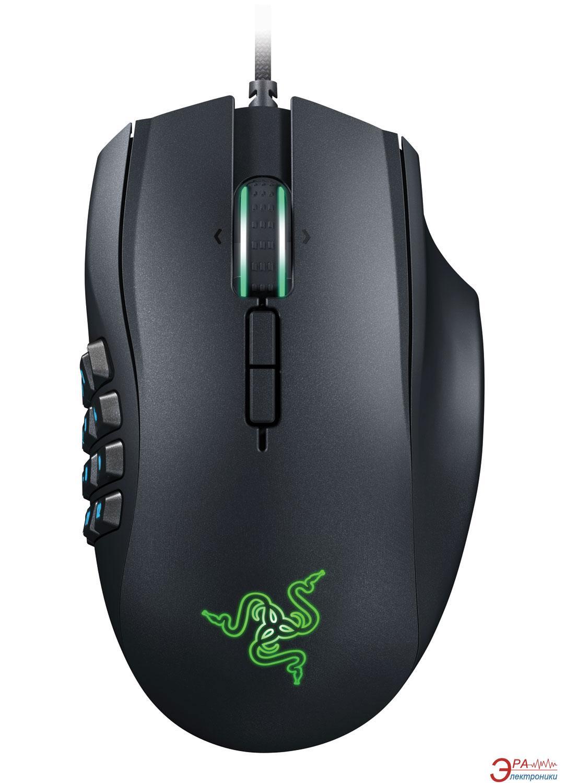 Игровая мышь Razer Naga Expert MMO Chroma (RZ01-01610100-R3G1) Black
