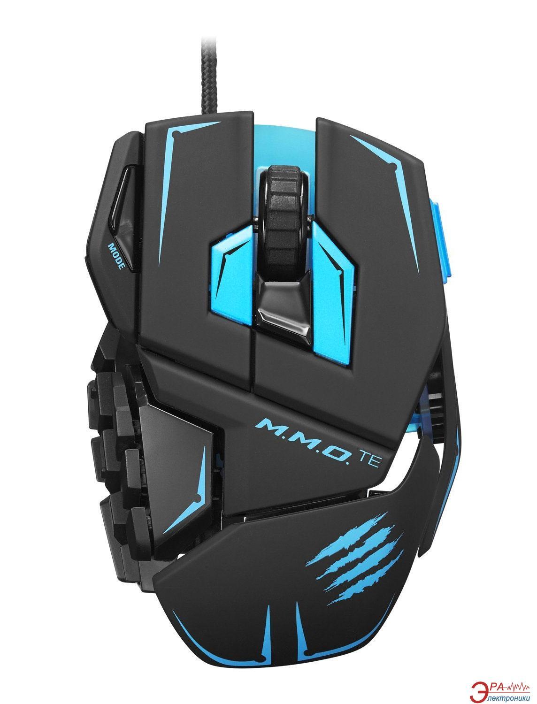Игровая мышь MadCatz M.M.O. TE Gaming Mouse (MCB437140002/04/1) Black\Blue