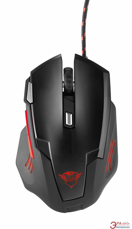 Мышь Trust GXT 111 Gaming Mouse (21090) Black\Red
