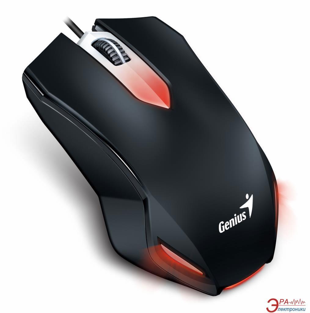 Мышь Genius X-G200 USB Gaming (31040034100) Black