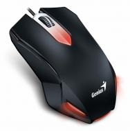 Мышь Genius X-G200 USB Gaming (31040034100) Black