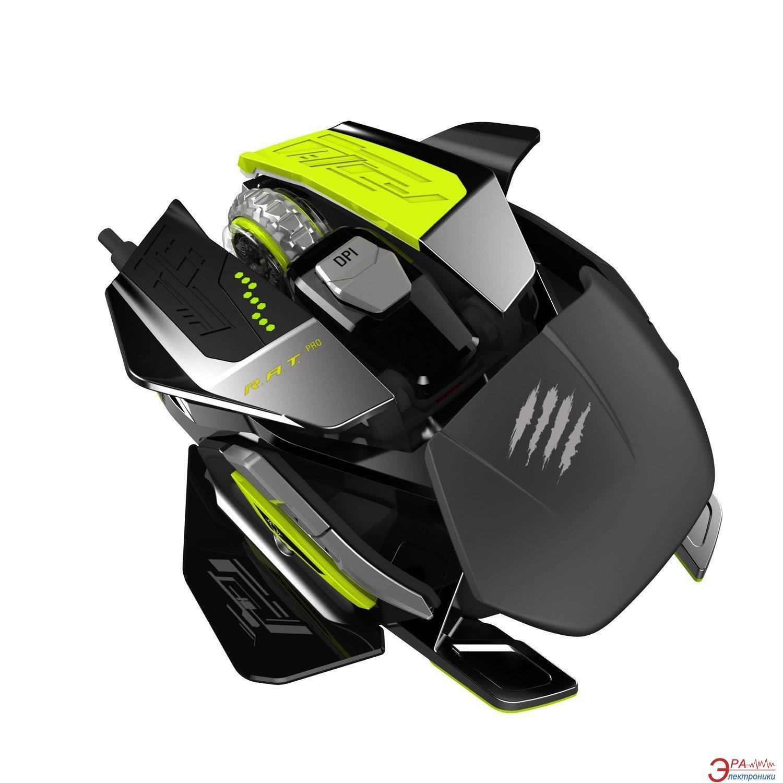 Игровая мышь MadCatz R.A.T. PRO X (MCB4371800P6/02/1) Black\Green