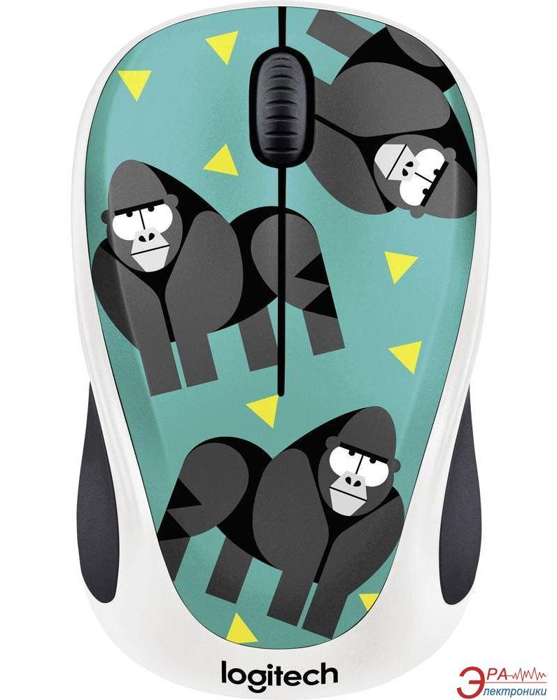 Мышь Logitech M238 Gorilla WL (910-004715) Green