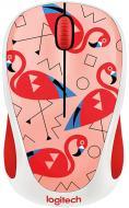 Мышь Logitech M238 Flamingo WL (910-004709) Red