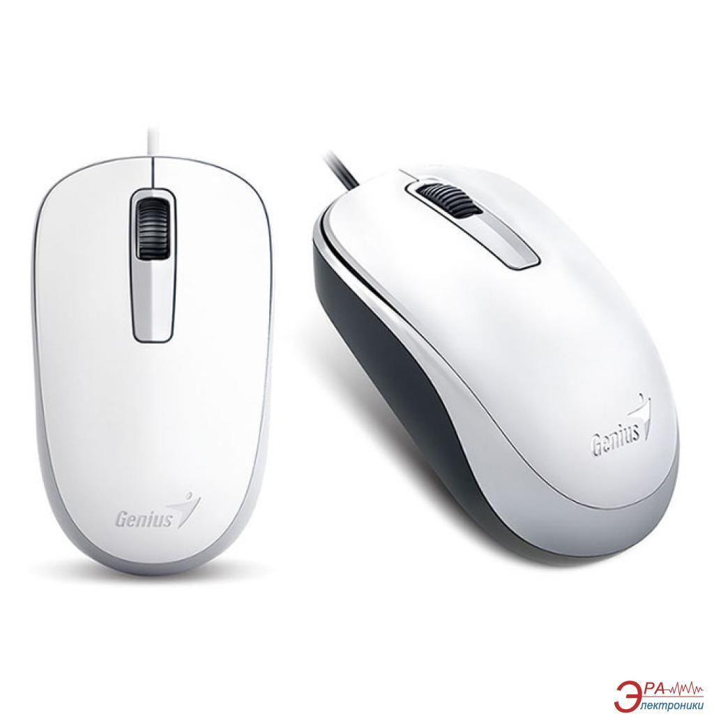 Мышь Genius DX-125 (31010106102) White