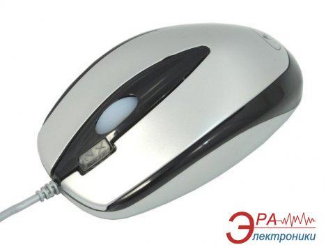 Мышь A4 Tech OP-3DM Silver