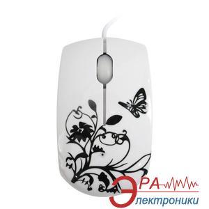 Мышь Lapara MS-910 Black\White Flower