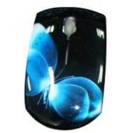 Мышь Lapara MS-915 Butterfly Black\Blue