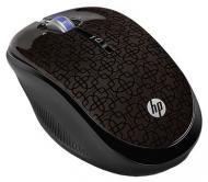 Мышь HP Optical Wireless Black Cherry (WX407AA)