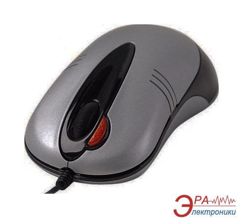 Мышь A4 Tech A4-X5-50D-2 Silver\Black