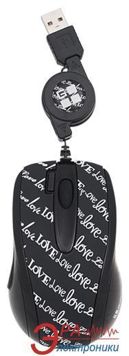 Мышь A4 Tech GLBW-73LL Love Letter (GLBW-73LL) Black