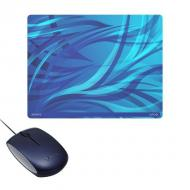 Мышь Sony VAIO USB + коврик (VGP-UMS2PLI) Blue