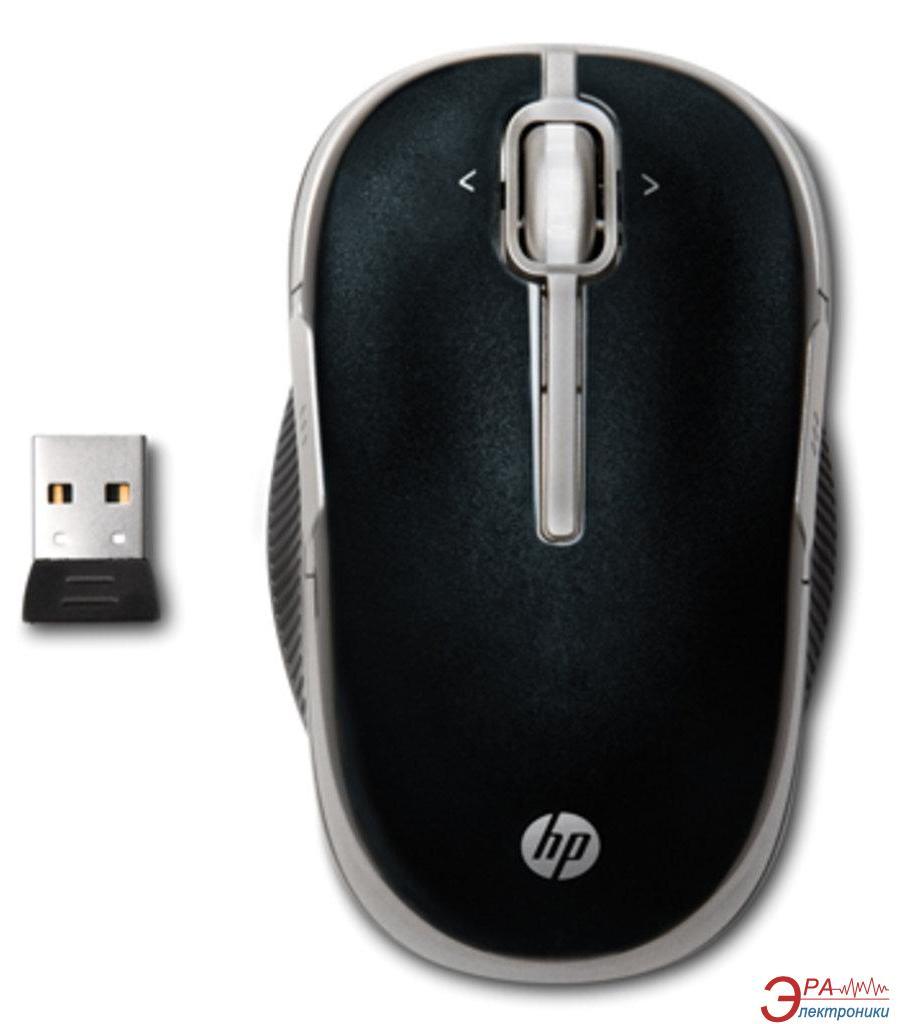 Мышь HP 2.4 GHz Wireless (Speedy) (VK482AA) Black