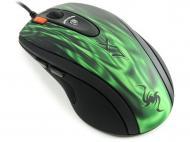 Игровая мышь A4 Tech XL-750BF USB Green