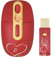 Мышь A4 Tech G-Cube G4E-10S Heart Red