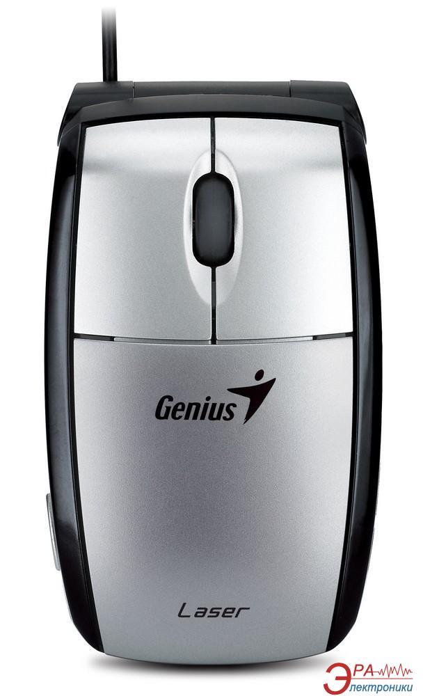 Игровая мышь Genius Navigator 365 Laser USB (31011470100) Black\Silver