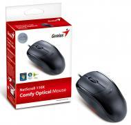 Мышь Genius NetScroll 110X USB (31010585101) Black