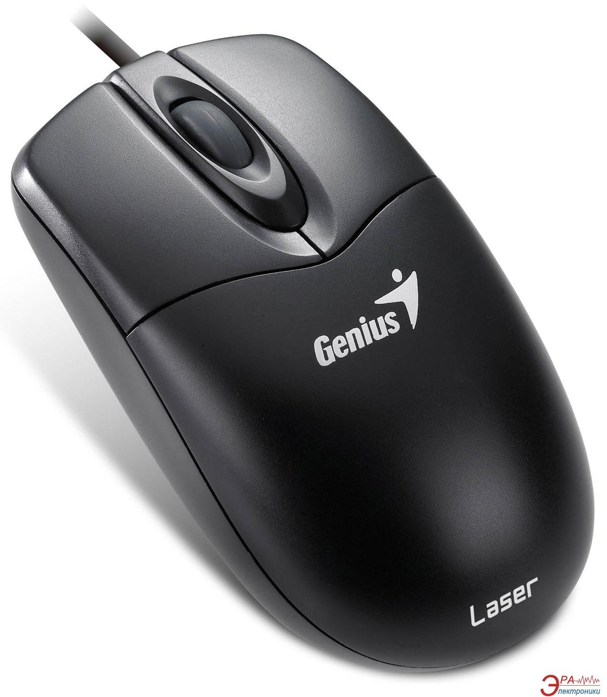 Мышь Genius NetScroll 200 Laser PS/2 (31010061101) Black