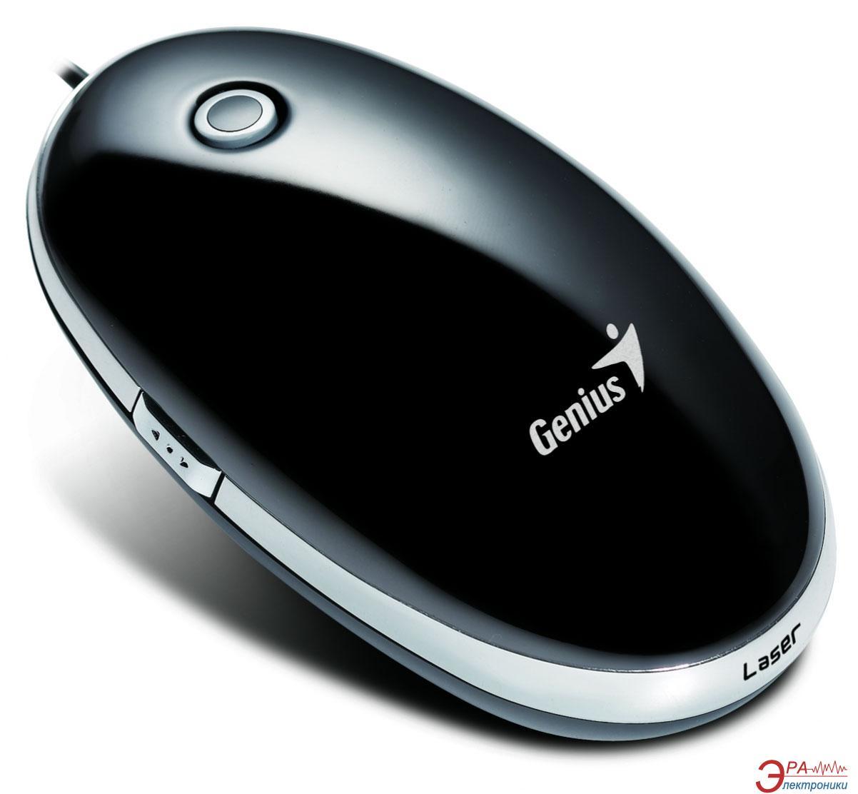 Мышь Genius ScrollToo T355 Laser USB (31010087101) Black