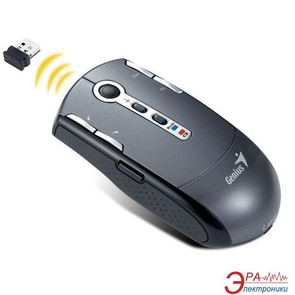 Мышь Genius Navigator T835 Laser Wireless (31030508100) Grey