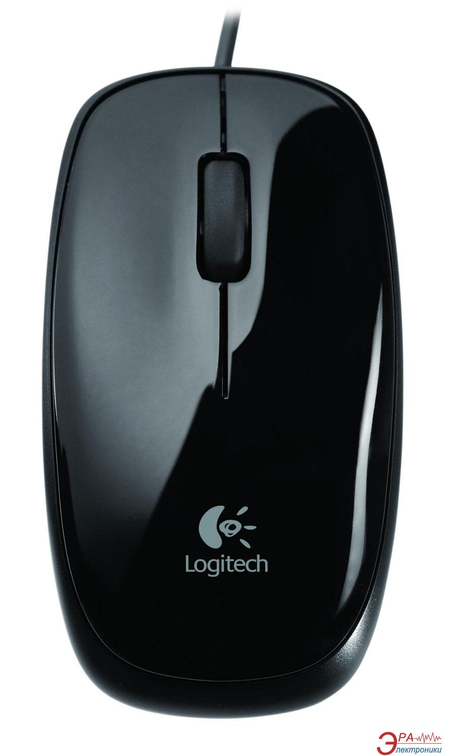 Мышь Logitech M115 for Notebooks (910-001269) Black
