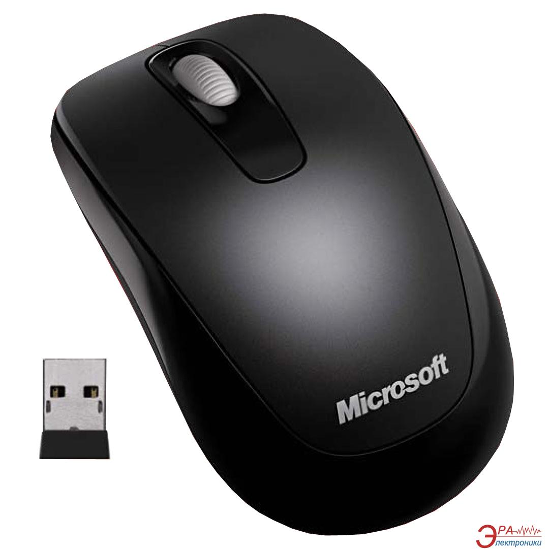 Мышь Microsoft WL Mobile Mouse 1000 Mac/ Win USB For Business (3RF-00002) Black
