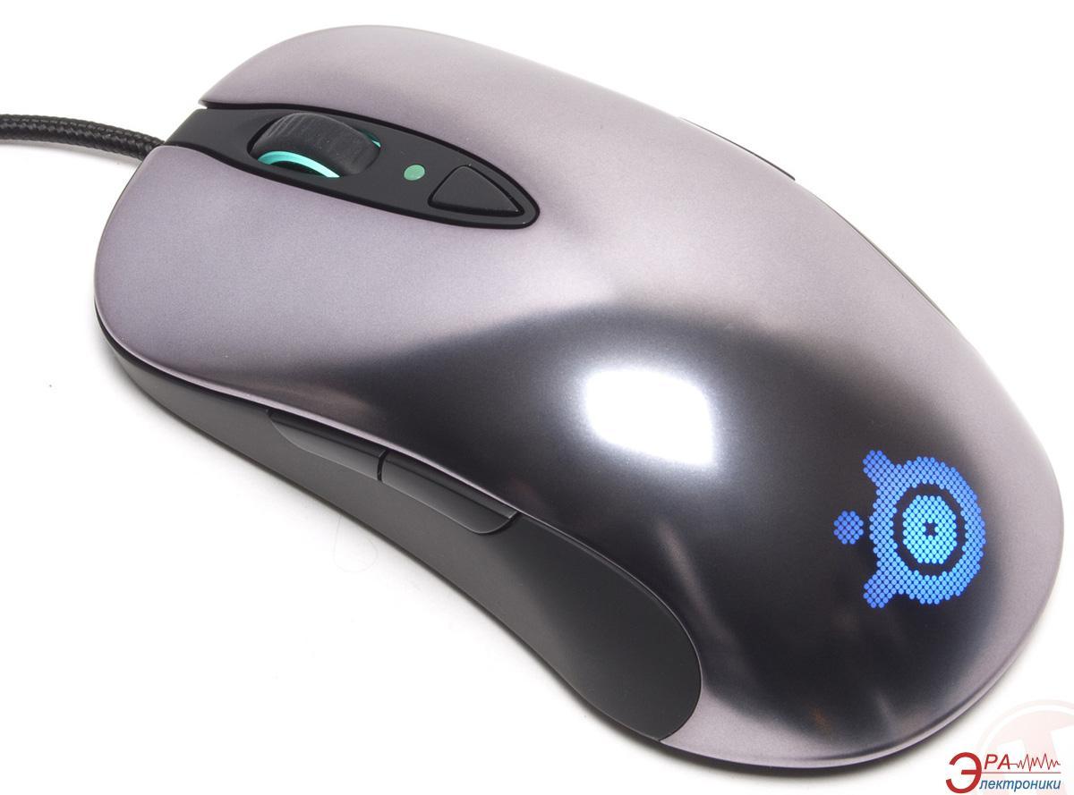 Игровая мышь SteelSeries Sensei Laser (62150) Silver\Black