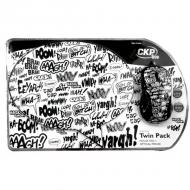Комплект (мышь+коврик) Cirkuit Planet Mouse + Mouse Pad Script (CPL-TP1925) White\Black