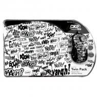 Комплект (мышь+коврик) Cirkuit Planet Mouse + Mouse Pad Script (CPL-TP1925) White\Black