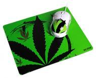 Комплект (мышь+коврик) Acme MN06 USB + коврик Herb (4770070865767) White\Green