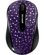 Мышь Microsoft Wireless Mobile BlueTrack 4000 Limited Eggplant Dot Blue (D5D-00116)