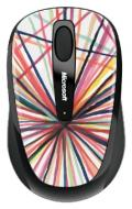 Мышь Microsoft 3500 Wireless Mobile Mouse Artist Mike Perry - Design 1 (GMF-00131)
