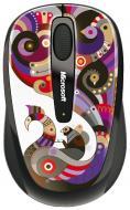 Мышь Microsoft 3500 Wireless Mobile Mouse Artist Chamarelli (GMF-00129)