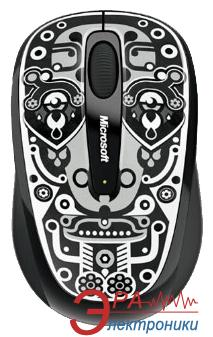 Мышь Microsoft 3500 Wireless Mobile Mouse Artist Jonny Wan (GMF-00155) Black\Grey