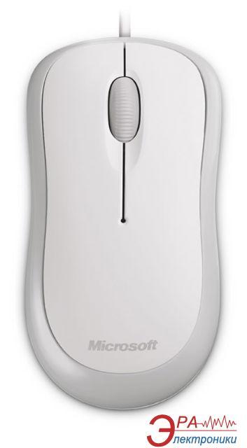 Мышь Microsoft Basic Optical Mouse USB (4YH-00008) White