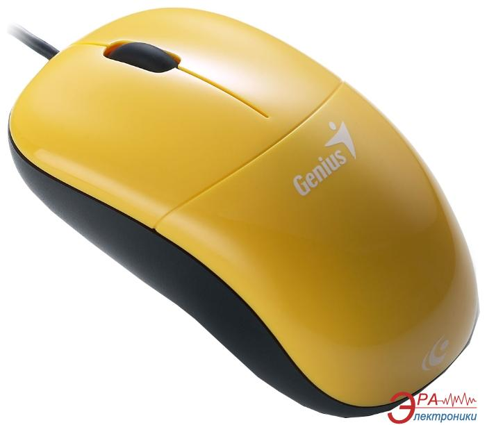 Мышь Genius DX-220 (31010123106) Yellow